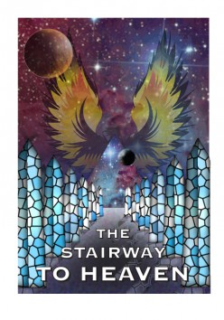 Upon reading the Stair Way To Heaven by Zecharia Zitchin I endeavored to create my version of the cover.