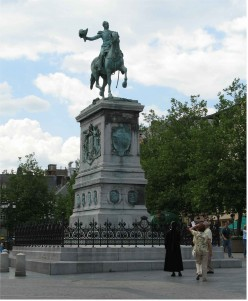 Equestrian statue of William II, Luxembourg City