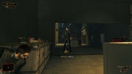 Deus Ex Human Revolution Defeating Barrett - who would have thought an alcove would be so important?
