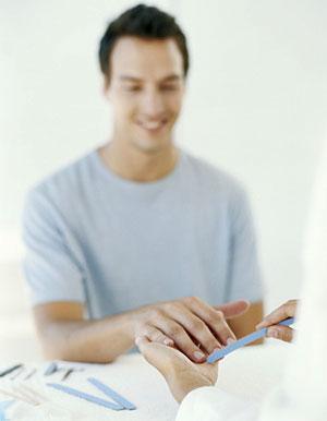Electric Men Manicure