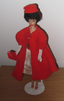 Barbie in Silken Flame and Red Flare
