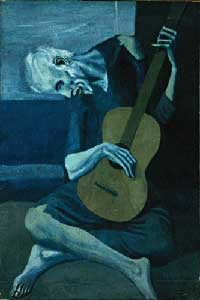 The Old Guitarist-Picass