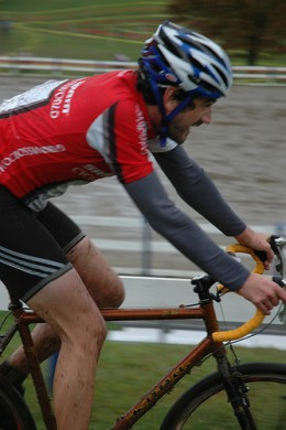 cyclo cross in action