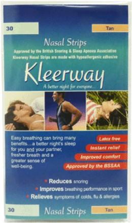 Kleerway nasal strips