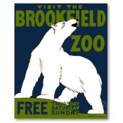 free cross stitch pattern Polar Bear Zoo