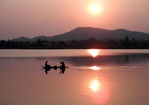 Khao Tao Reservoir, Khao Tao, Thailand