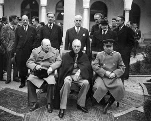 The Big 3 at Yalta