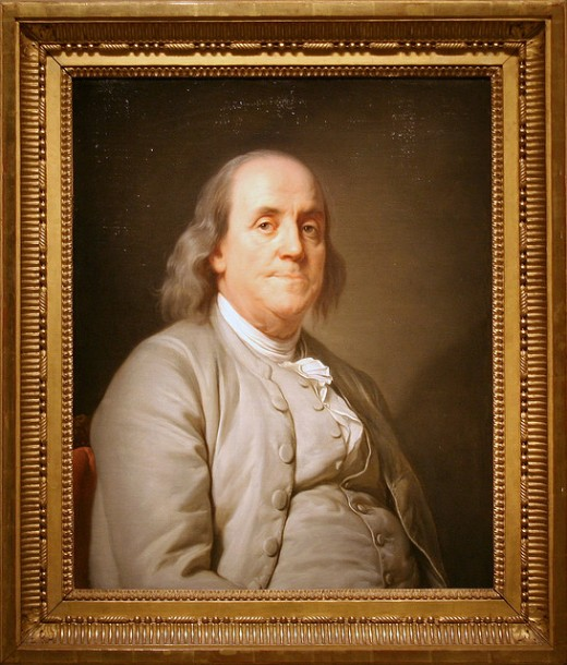 In 1995 this portrait was selected as the basis for Franklin's engraving on the redesigned $100 bill.