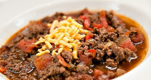Chili is also known as chili con carne. There are many variations of chili recipes in different regions.
