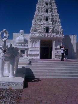 Vedic Hindu Temple in Iowa