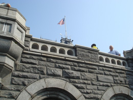 Belvedere Castle from balcony.