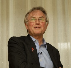 Richard Dawkins at the 34th American Atheists Conference in Minneapolis. This file is licensed under the Creative Commons Attribution-Share Alike 2.0 Generic license. See: http://en.wikipedia.org/wiki/File:Dawkins_aaconf.jpg