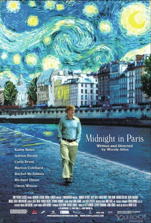 Midnight in Paris Directed by Woody Allen