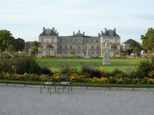 The Palais du Luxembourg, where the French Senate houses