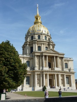 The Dme des Invalides seen from the southern side