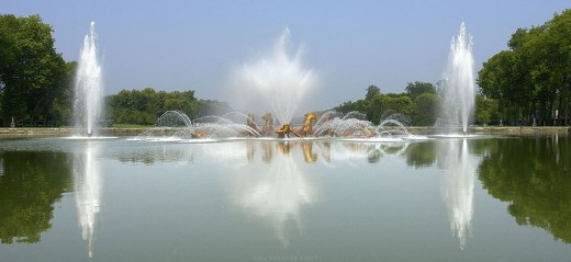 The Bassin Apollon in the gardens of the Chteau de Versailles