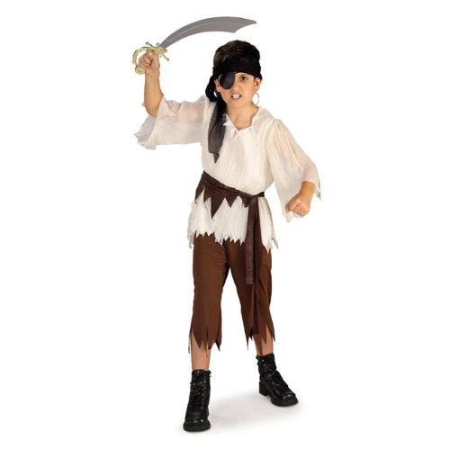 Raggedy Pirate Boy from pirate-costume-ideas.com