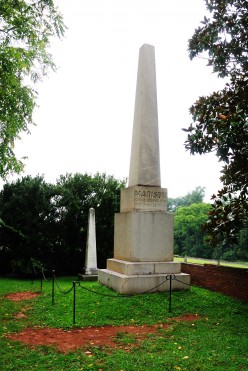 James and Dolley Madison's Graves