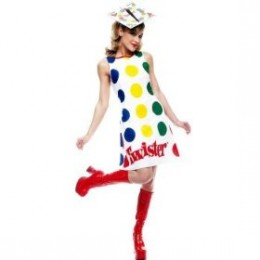 The twister costume will have men Bending over backwards for you.