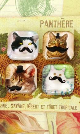 Cat Manchu Magnets