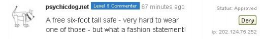 A Level 5 Commenter