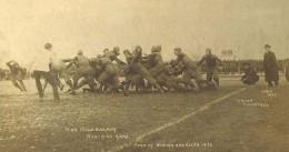 1902 football at Michigan U. Very rugby-like.