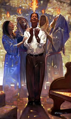 Prayer in the Spirit-Receiving the Baptism of the Holy Spirit