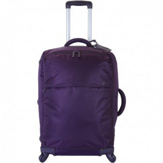 "Lipault Paris Plume Original 25"" 4-Wheel Trolley http://www.airlineintl.com/product/lipault-paris-plume-original-trolley-25-4-wheel"