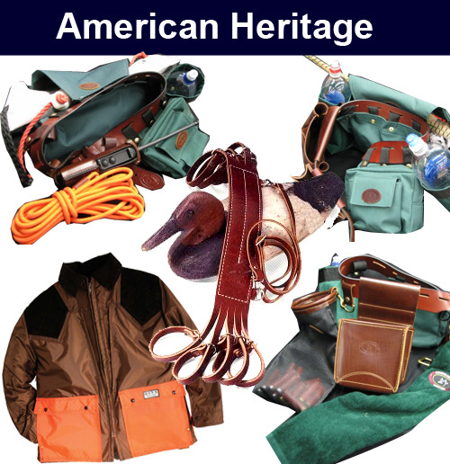 American Heritage hand crafted hunting gear