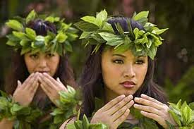 Hawaiian dancers use their hands to tell their stories through song and dance!
