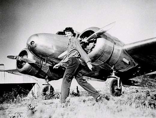 Amelia and her Lockheed Electra