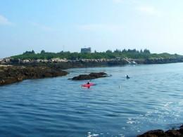 Kayaks Near Bailey's Island