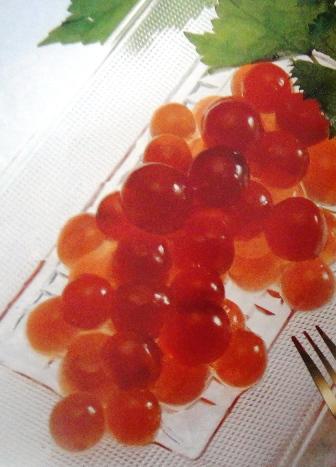 agar grapes