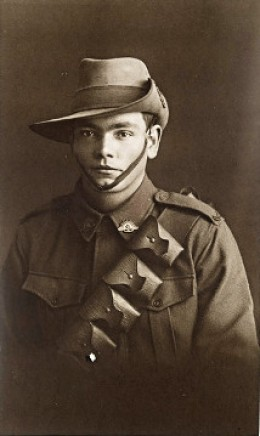 Edward Morey at the beginning of World War One