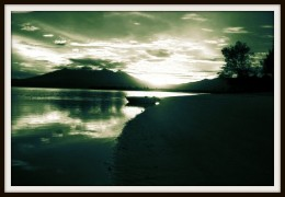 Sunset at Gili Trawangan.