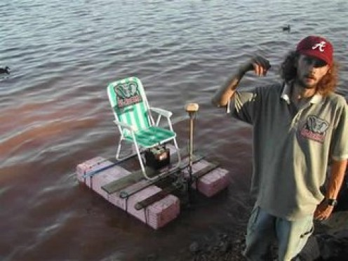 A SOUTHERN FISHING CHAIR.