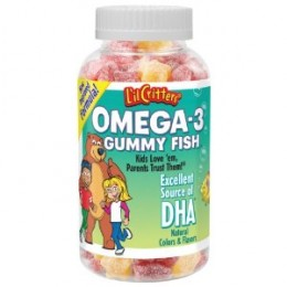 L'il Critters Gummy Fish is a tasty omega-3, DHA supplement for kids that doesn't have a fishy taste