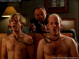 Tommy (Joe Pesci) tortures Ernie (David Spade) and Steve (Todd Louiso) for information about Charlie.