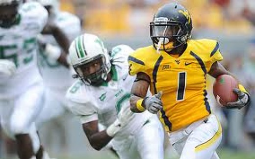 WR Tavon Austin (West Virginia)