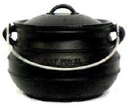 Flat Bottom Cast Iron Pots