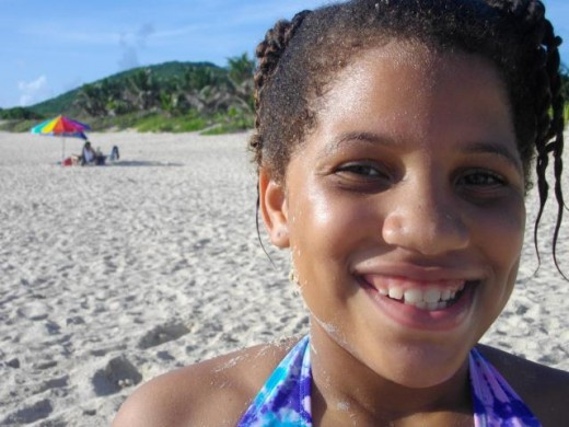 My beautiful daughter Alaiyah while hanging out in gorgeous Culebra island. Hey! great topic for a next Hub!