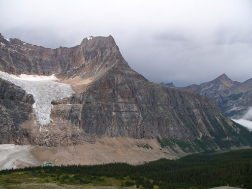 Mount Edith Cavell, Canadian Rockies, with Angel Glacier