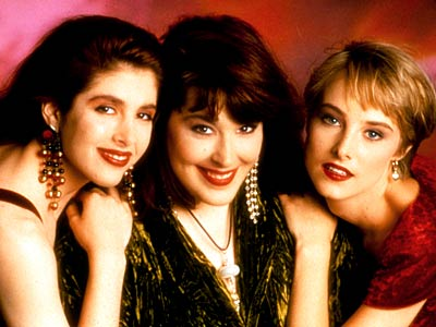 Wilson-Phillips band members: Wendy Wilson, Carnie Wilson and Chynna Phillips