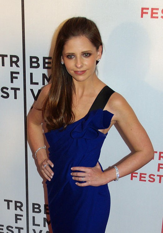 Sarah Michelle Gellar in 2007