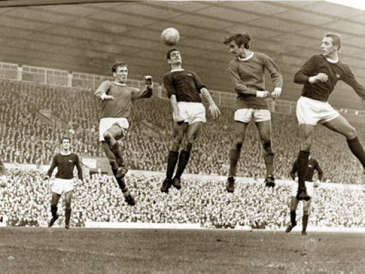 Manchester United vs. Arsenal, at Old Trafford, October 1967