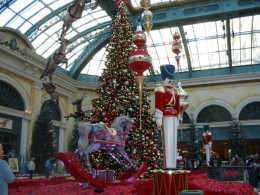 Christmas! I loved the big soldiers and rocking horses. It was truly memorable!