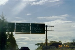 "Follow the signs..""Cuota"" means toll road- have coins ready!"