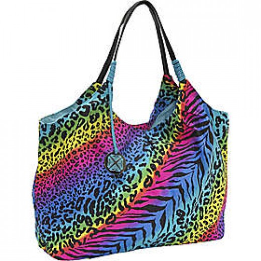 Roxy Dandy Lion Black Zebra Print Tote http://www.airlineintl.com/product/roxy-dandy-lion-print-canvas-tote-1