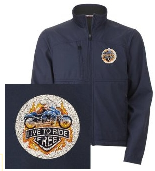 Ride free with this jacket clothing you.