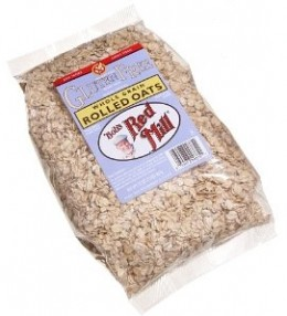 These rolled oats are free of Gluten